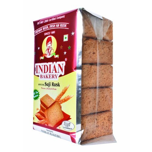 Indian Brakery Suji Till Toast Rusk (250g), 250 Gm