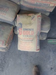 PPC (Pozzolana Portland Cement) Concrete gold cement, Packaging Type: Paper Sack Bag, Cement Grade: General High Grade