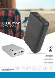Power Bank-10 000 Mah-1 Yr Warranty