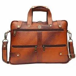 Hammonds Flycatcher Original Bombay Brown Leather Office Messenger Bag
