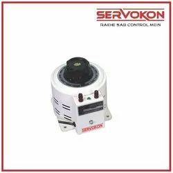 230 Volts Servokon Single Phase Variable Auto Transformer, Capacity: 300 Amp