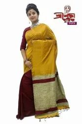 Mulmul Cotton Sarees With Gicha Pallu