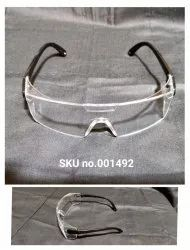 Safety Glasses With Black Frame