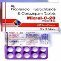 Clonazepam 0.5 Mg And Propranolol 20 Mg
