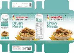 Spicceum Biryani Masala, Packaging Size: 50 g, Packaging Type: Packets