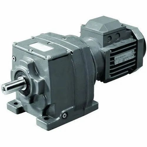 Power Build Flange Helical Gearbox