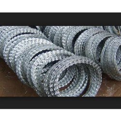 Cross Razor Galvanised Concertina Coil Wire Mesh, for Industrial