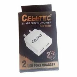 White Celltec Smart Mobile Charger