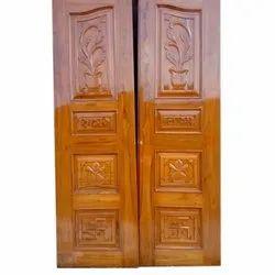 Solid Wood Door In Indore ठस लकड क दरवज