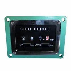 Shut Die Height Indicator
