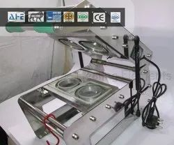 123mm Double Cup Sealing Machine
