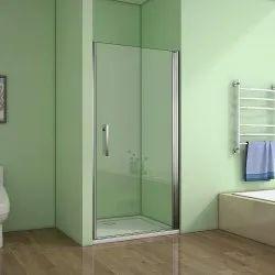 Plain Glass Door, Thickness: 1-10mm