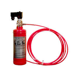 Tube Based Clean Agent Fire Suppression System for Panel / Server