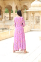 Lahariya Georget Anarkali Pattern Cotton Inner Kurti