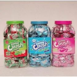 Juju Center Crush Mint Bubble Gum, Packaging Type: Plastic Jar