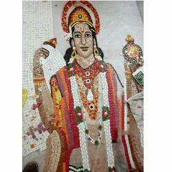 Hand Cut  Glass Mosaic Tile