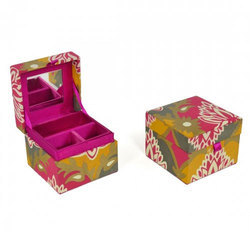 Fabric Paper Boxes