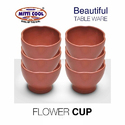 Clay Flower Cup