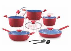 Cookware Set- 12 Pcs . Small Groove