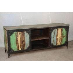 Sideboard Iron Wooden Furniture