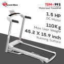 TDM-99S Powermax Motorized Treadmill