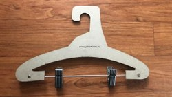 Cardboard Hanger With Clips
