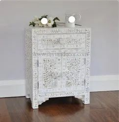 Mother Of Pearl Bedside table