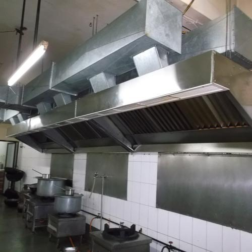 Restro kitchen exhaust hood at rs 16890 piece chennai - Commercial kitchen vent hood designs ...