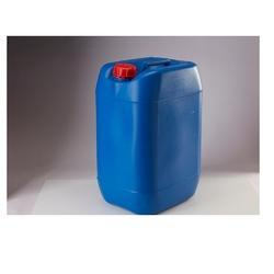 Blue And Red Chemicals BM Shape HDPE Drum, For Chemical Storage, Packaging Type: Stackable Jerry Cans