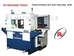 CNC Twin Spindle Key Way Milling SPM