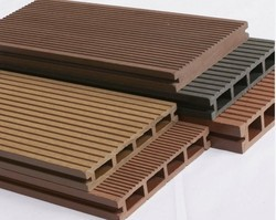 Brown Wood Plastic Composite Sheet