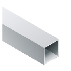 Mill Finish Aluminium Square Pipe