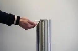 Stainless Steel Sanitizer Dispensing Stand