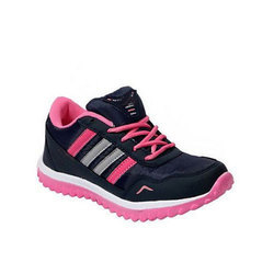 Blue And Pink Ladies Sports Shoes