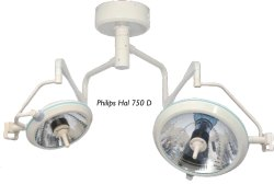 Philips 750D Double Dome Shadowless Surgical Light