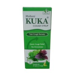 Plastic Kuka Cough Syrup, Prescription, Bottle Size: 100 ml