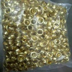Golden Gunmetal Eyelet, Shape: Round