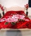 Double Bed Star Red Gullivar Blankets