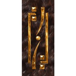 Hinged Wooden PVC Door, Thickness: 32 Mm, Interior