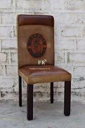 Custom Upholstered Side Chair for Restaurants