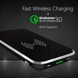 Abs + Pc Coolnut Wireless Power Bank, Capacity: 10000 Mah, Model Number: Cmpbxip-57