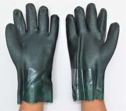 PVC Supported Hand Glove 12 Inch