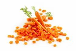 Frozen Carrots Crincked Vegetables