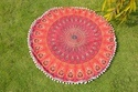 Mandala Round Cushion