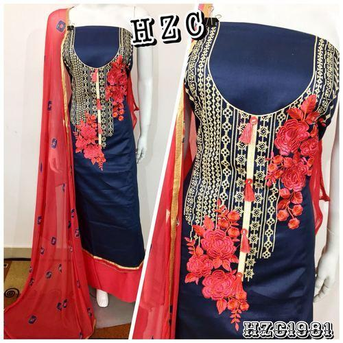Fastcolors Normal Salwar Cotton Slub With Beautiful Sleek