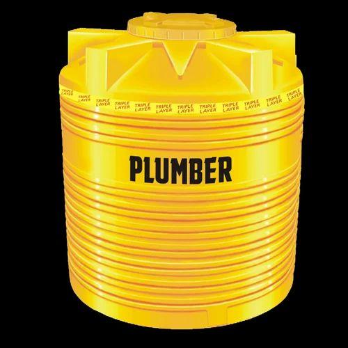 200 L 5000 L Plumber Triple Layer Water Tanks Rs 5 05 Litre Akashdoot Vayapar Private Limited Id 18603625655