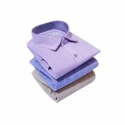 Casual Wear Mens Khadi Cotton Plain Shirt, Packaging Type: Packet, Machine wash