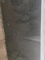 Polished Rajasthan Black Granite Slab, For Flooring, Thickness: 15-20 mm