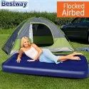 Flocked Air Bed Navy Blue (67000)