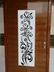 Laser Design Wooden Gate